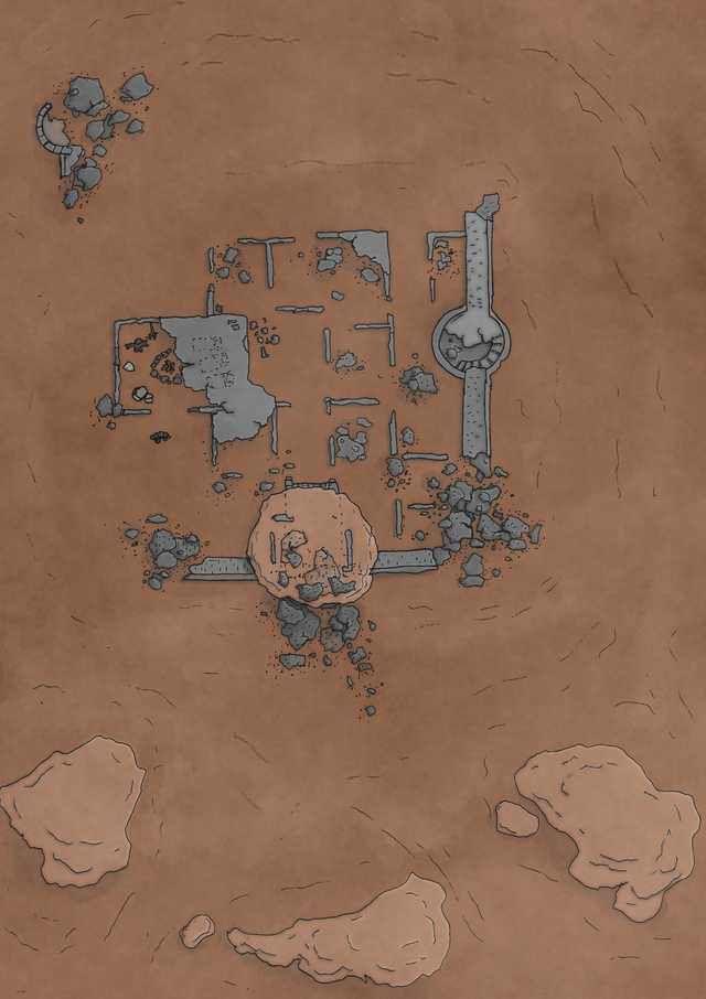 Desert Battle maps for dnd - Imgur