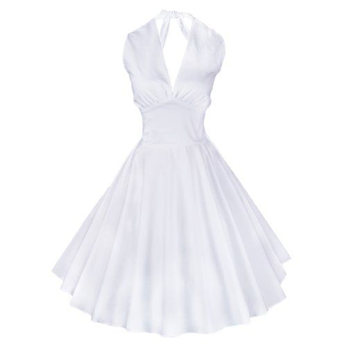 Maggie Tang Women's 1950s Vintage Rockabilly Dress Size M Color White Maggie Tang http://www.amazon.com/dp/B00K5LPB2Q/ref=cm_sw_r_pi_dp_tqChvb17KJ8Q9