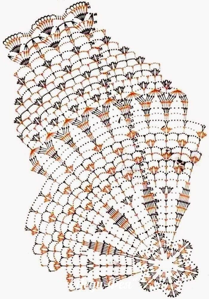 39 best Patrones images on Pinterest | Hand crafts, Filet crochet ...