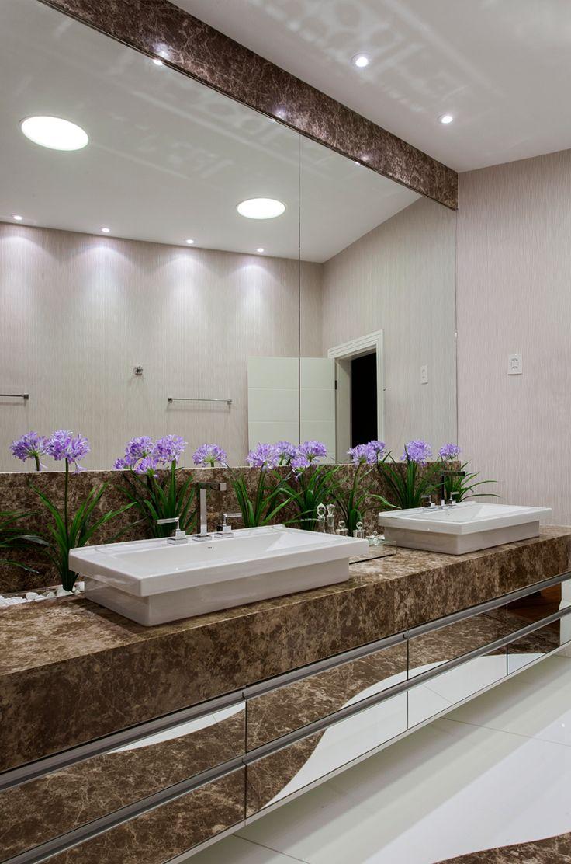 25+ melhores ideias sobre Plantas Artificiais no Pinterest  Plantas artifici -> Banheiro Pequeno Com Jardim De Inverno