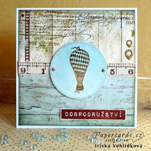 Z MÉHO TVOŘIVÉHO ŽIVOTA: Papercards.cz challenge 11.
