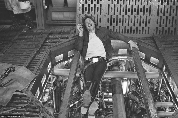Those were good times. Han Solo (Harrison Ford) takes a break on The Empire Strikes Back.