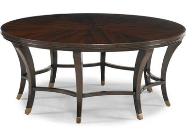 CTH-Sherrill Occasional Rue Round Cocktail Table 967-121