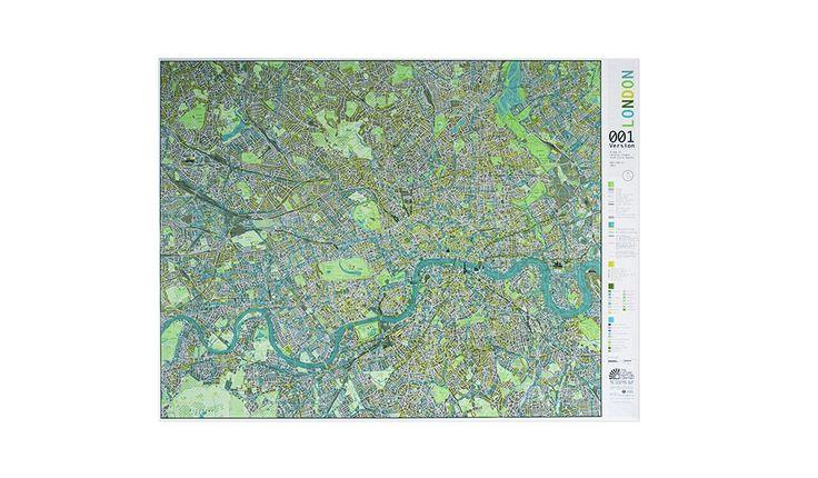 MONOQI | London Karte - Papier
