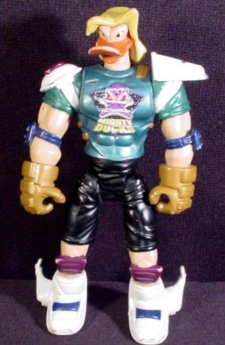 Nosedive Stickfire Action Figure Mighty Ducks Street Patrol Series 6 Inch 1997 Mattel