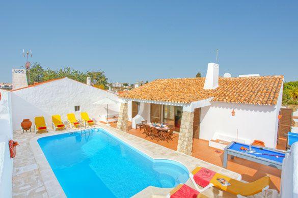 Villa Aveiros, Praia D'Oura, Algarve, Portugal. Find more at www.villaplus.com