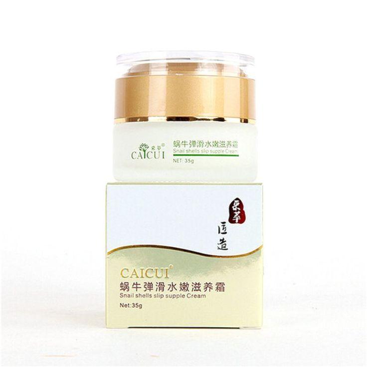 Goud Natuurlijke Slak Gezichtsverzorging Crème Hydraterende Whitening Anti-aging Rimpel Hot