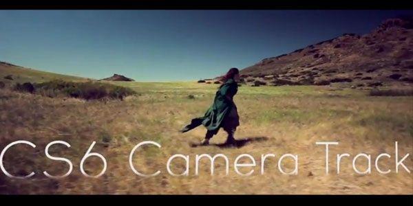 After Effects CS6 3D Camera Tracker