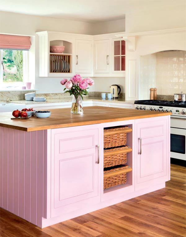 Bright Kitchens best 25+ pink kitchens ideas on pinterest | pink kitchen interior