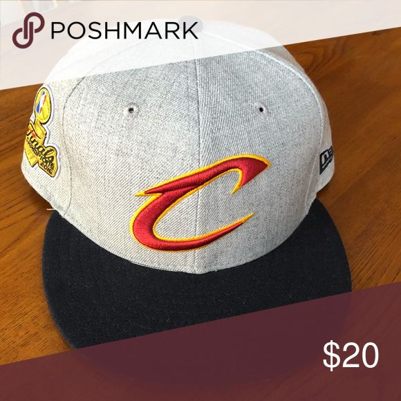 Cleveland Cavaliers New Era 9FIFTY SnapBack Cleveland Cavaliers New Era 2016 NBA Finals Champions 9FIFTY Snapback Adjustable Hat. Excellent Condition. New Era Accessories Hats