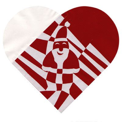 Woven Danish Christmas hearts made out of paper. Directions for simple ones here: http://www.haabet.dk/users/julehjerter/making.html