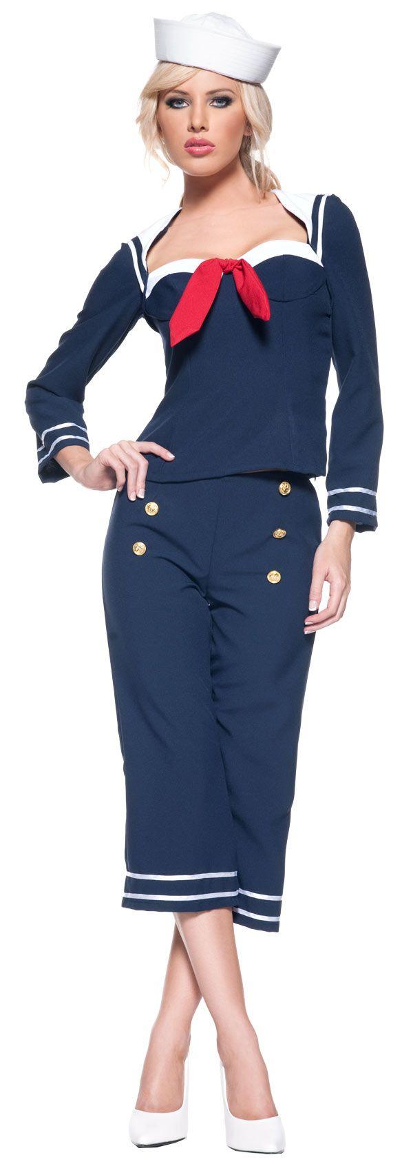 sailor+costume | Ship Mate Sailor Costume - Sailor Costumes