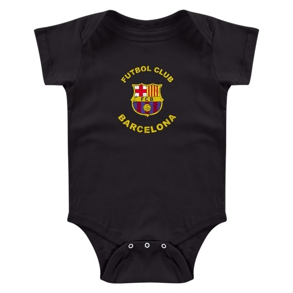 Barcelona Futbol Club Distressed Onesie