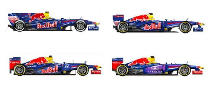 Sebastian Vettel 2010, 2011, 2012, 2013