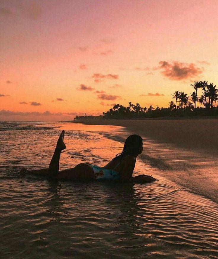 As melhores fotos ao pôr do sol no mar   – Cara