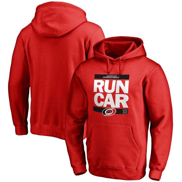 Carolina Hurricanes RUN-CTY Pullover Hoodie - Red