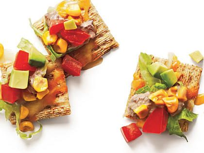"Healthy Wheat-Cracker ""Nachos"""
