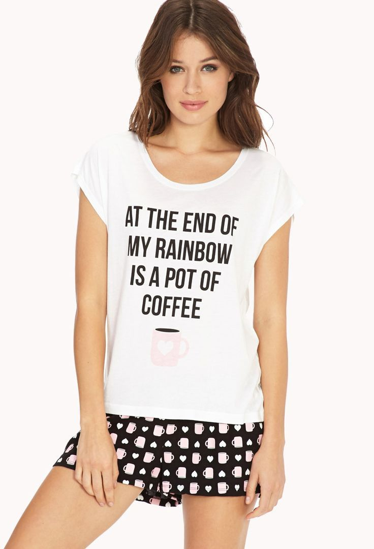 """""""at the end of my rainbow is a pot of coffee"""" Yes."""