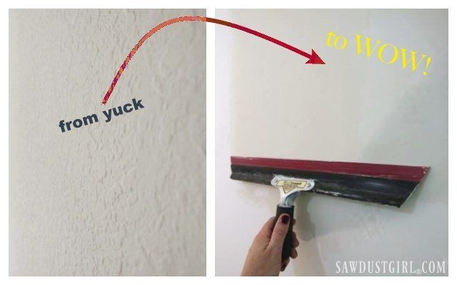 How To Skim Coat To Remove Wall Texture Textured Walls Removing Textured Walls Painting Textured Walls