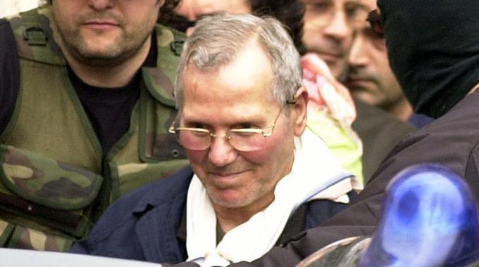 Provenzano al momento del suo arresto 2006