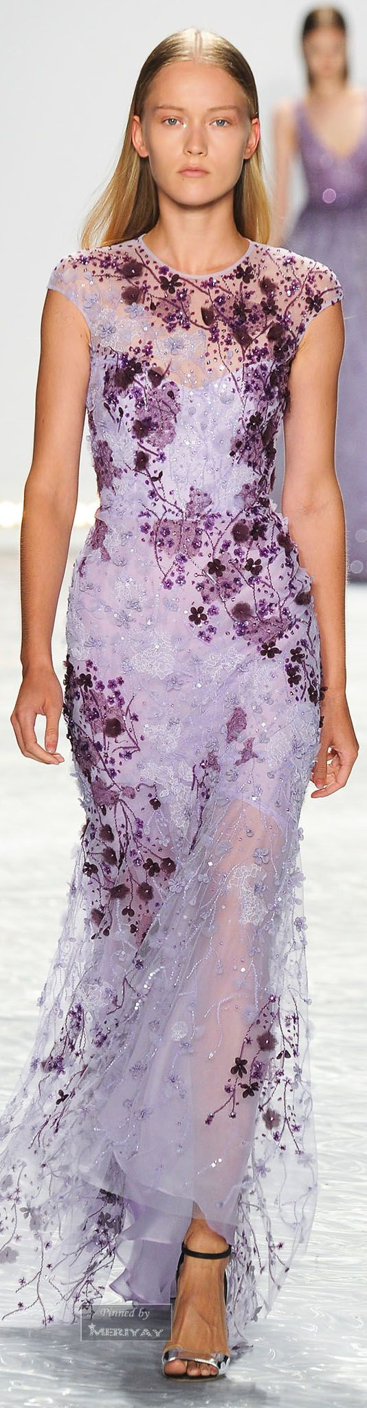 """Monique Lhuillier.Spring 2015. ♥♡♥♡♥Thanks, Pinterest Pinners, for stopping by, viewing, re-pinning,  following my boards.  Have a beautiful day! ^..^ and """"Feel free to share on Pinterest ^..^ #fashion   #fashionupdates"""