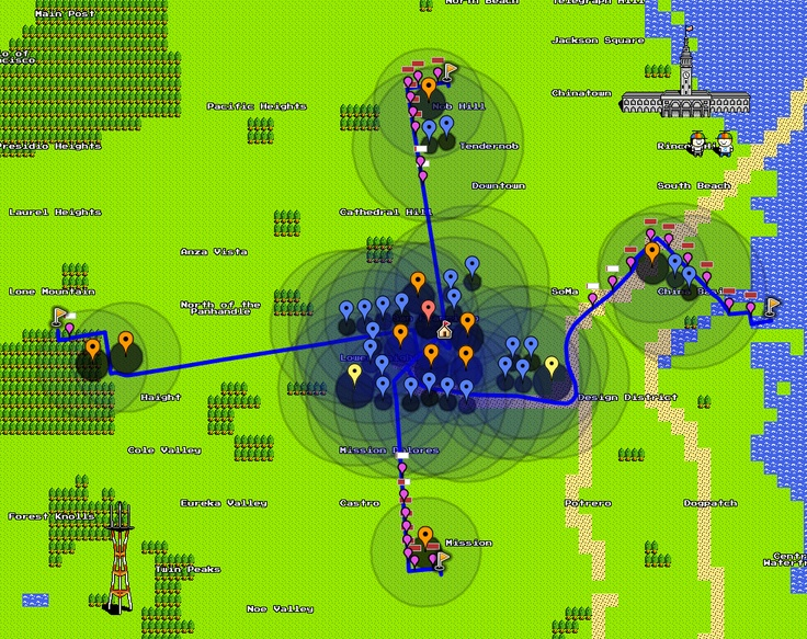 Tower Defense on 8-Bit Maps