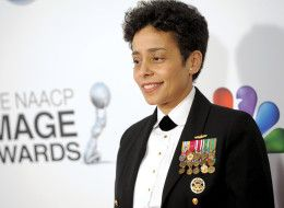 Michelle Howard is the Navy's first female four-star admiral. (Photo by Chris Pizzello/Invision/AP)