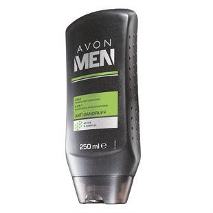 Avon Men 2 az 1-ben korpásodás elleni sampon és balzsam