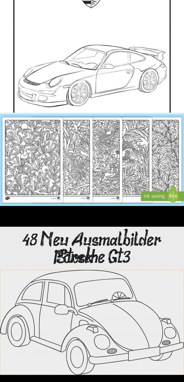 48 neu ausmalbilder porsche gt3 stock  technology