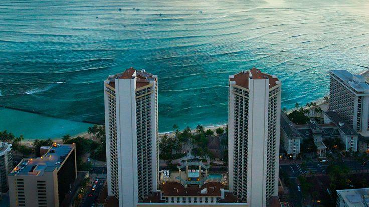 Hyatt Regency Waikiki Beach Resort & Spa - aerial view