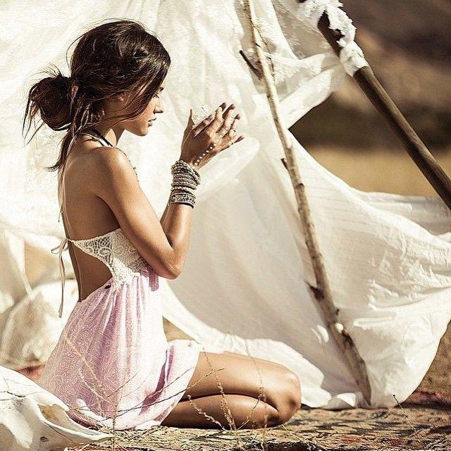 spirit girl; desert photography; mystic | http://www.PsychicKailo.org