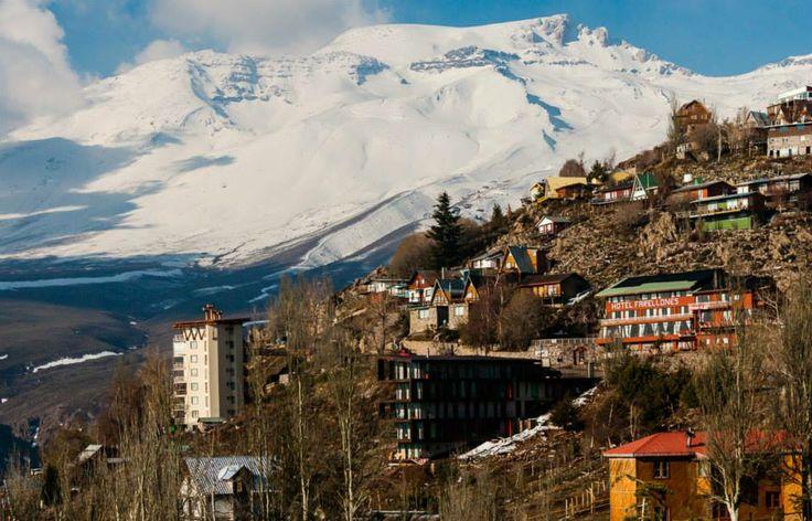 Centro Ski Farellones, Reg. Metropolitana.Santiago, Chile