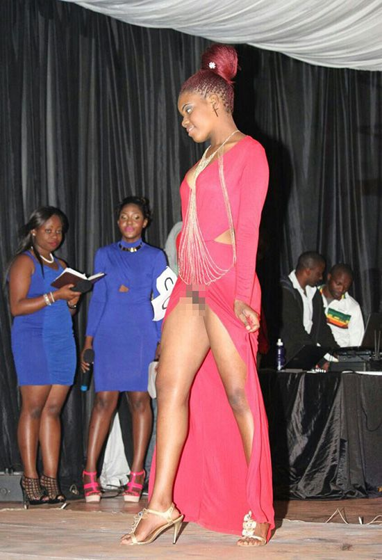 Panashe Zhaware reportedly flashed her private parts at ...