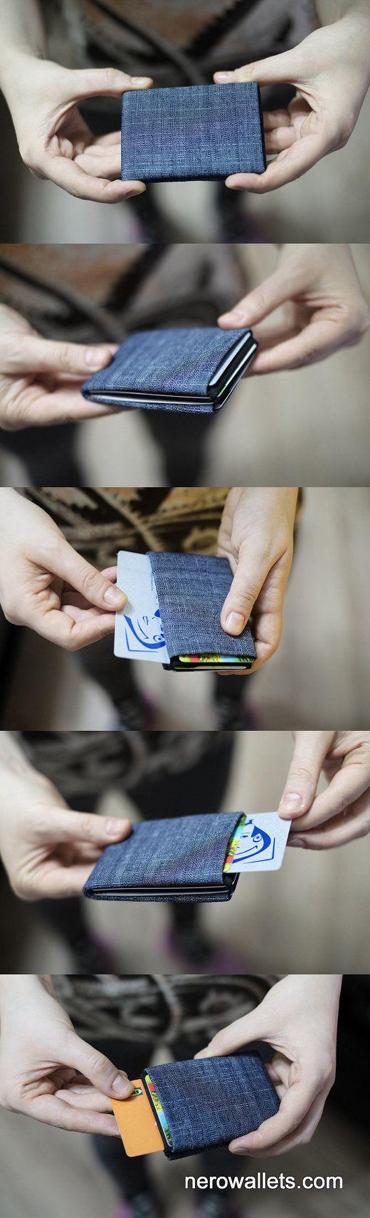 Limited Edition - Slim Wallet, Minimalist Wallet, Womens Wallet, Mens Wallet, Slim Minimalist Wallet, Modern Design - RFID Wallet