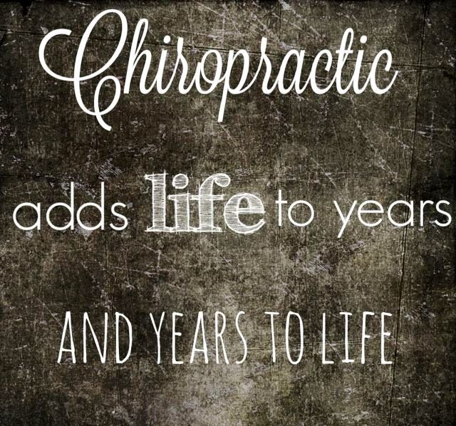 So true! Had my monthly adjustment today and I am so thankful to have my life back. The last year and half has been amazing without back pain after 14 years of chronic back pain always getting in the way of life. #thankful #atrueblessing