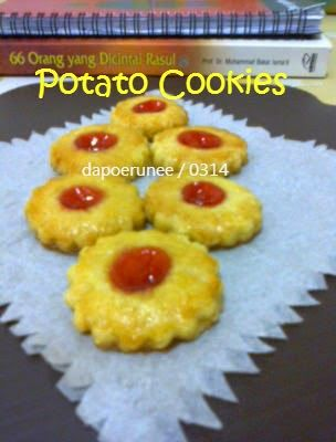 dapoerunee : Potato Cookies