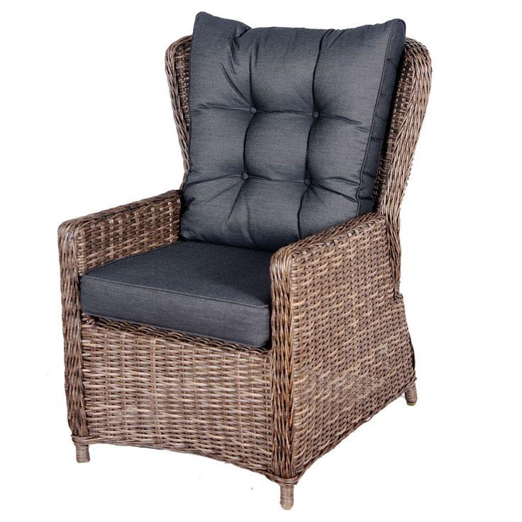 De Verstelbare Relax Stoel Fleur is een van de beste #tuinstoelen verkrijgbaar. De stoel is onderdeel van de loungeset Fleur maar is dus ook los verkrijgbaar. Dankzij het 7 mm dikke wicker is de Verstelbare Relax Stoel Fleur zeer duurzaam en makkelijk in het onderhoud. Wij raden voor het onderhoud van deze stoel aan om Eden vlechtwerk beschermer te gebruiken.