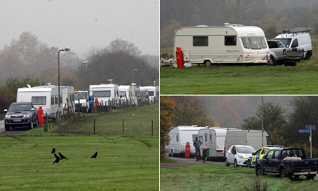 Harlow town 'under siege' from travellers