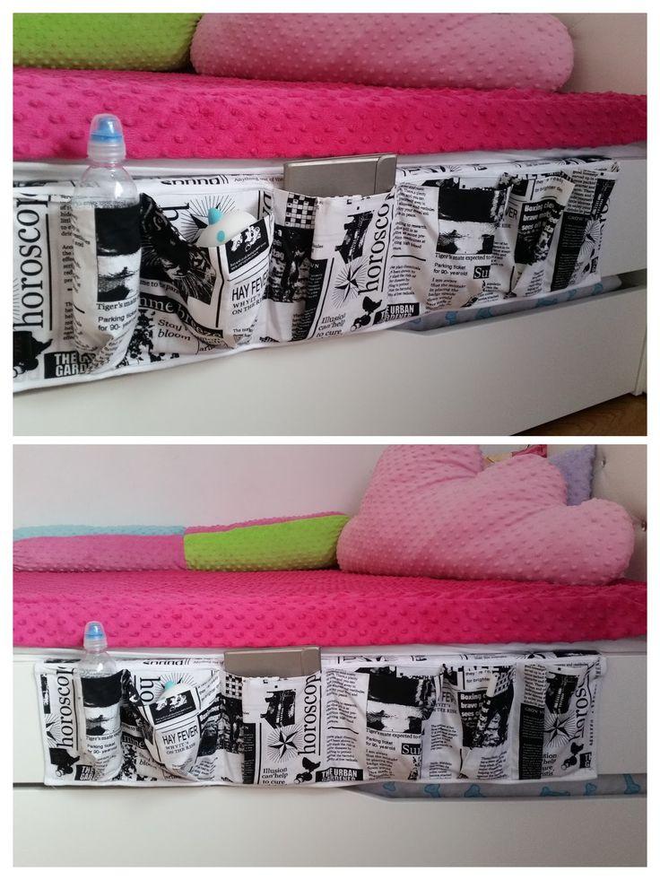Organizer na łóżko Bed pockets