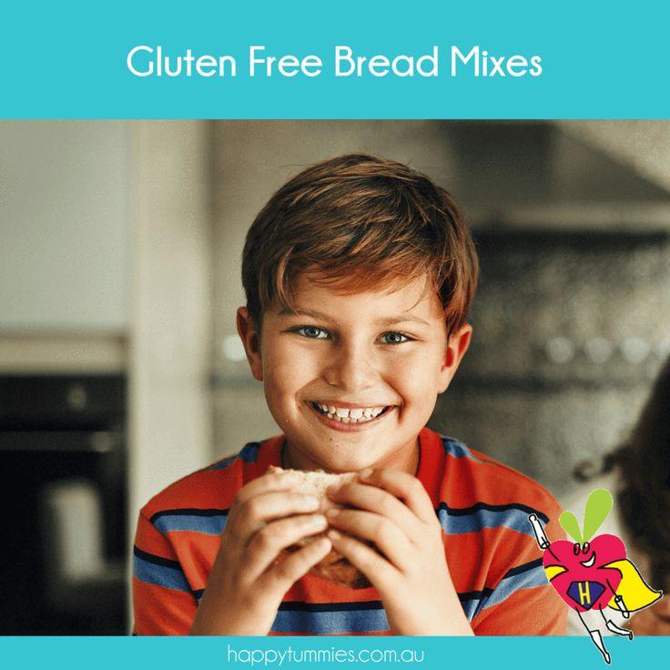 Gluten Free Bread Mixes – Happy Tummies Pty Ltd