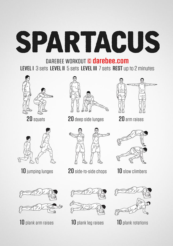 Spartacus Workout