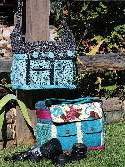 Say Cheese! Camera Bag - Sewing Pattern   $