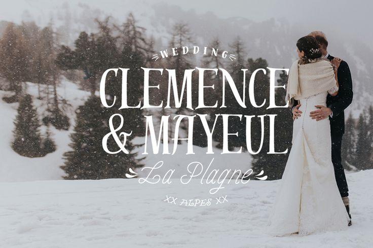 La plagne wedding