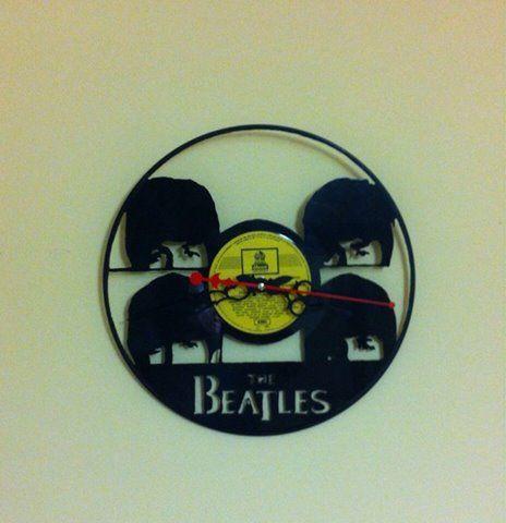 28 best reloj en disco de vinilo images on pinterest - Discos vinilos decorativos ...
