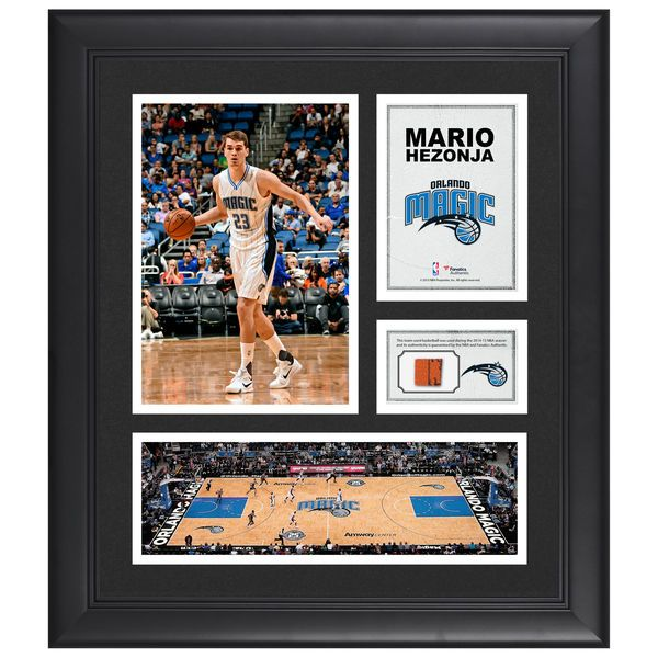 "Mario Hezonja Orlando Magic Fanatics Authentic Framed 15"" x 17"" Collage with Team-Used Ball - $79.99"