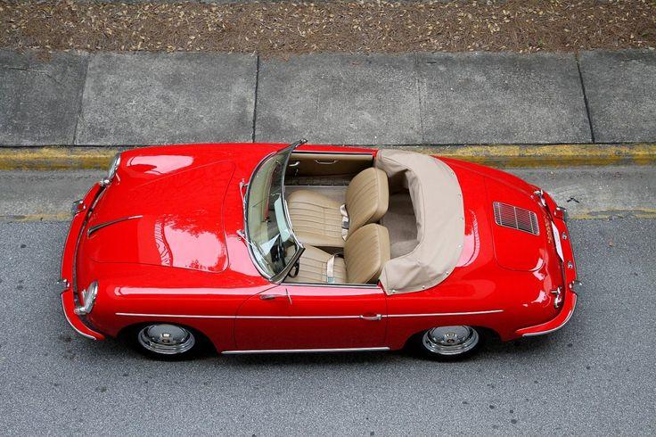 Porsche 356 Roadster Overhead 1480x986 1960 Porsche 356 Roadster