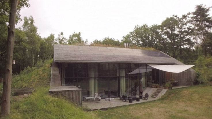 [vidéo]  Comment bâtir une maison en se servant de la terre comme isolant thermique ?, Echo-Logis-Dutch Mountain – Hollande #construiretendance