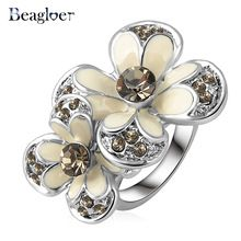 White enamel flower ring online shopping-the world largest white enamel flower ring retail shopping guide platform on AliExpress.com