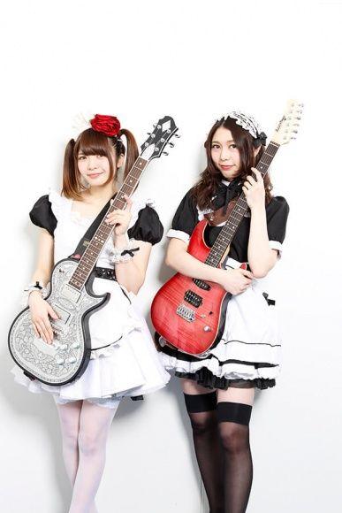 Miku Kobato (left), Kanami Tono