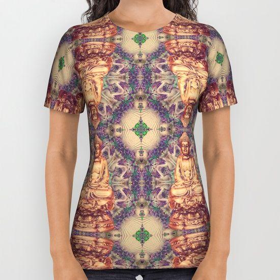 Buddha shell pattern All Over Print Shirt